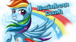 Wallpaper: Rainbow Dash