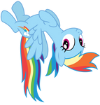 Vector: Rainbow Dash 8