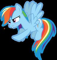 Vector: Rainbow Dash 11 by EStories