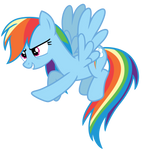 Vector: Rainbow Dash 11