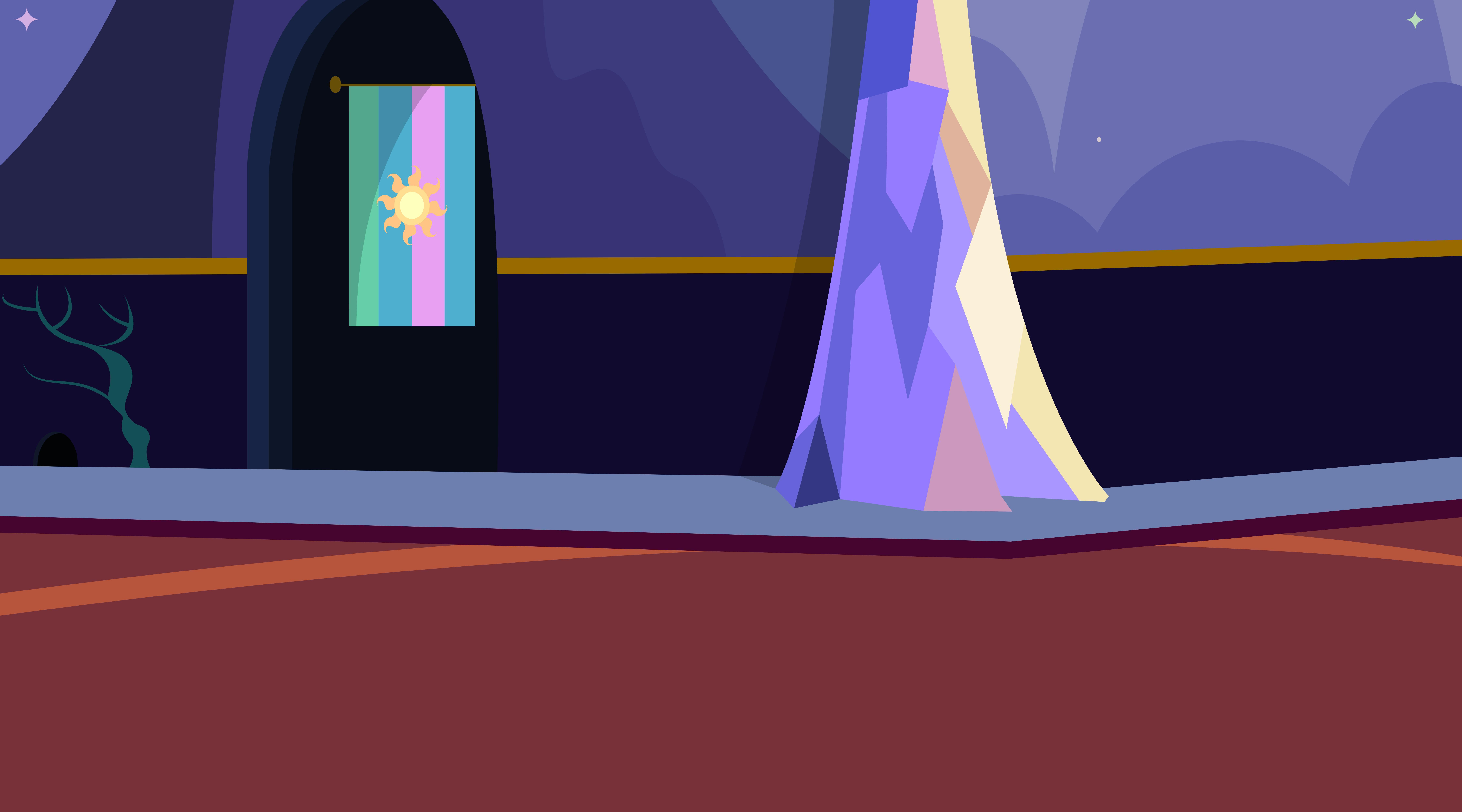 Background: Twilight's Castle 4