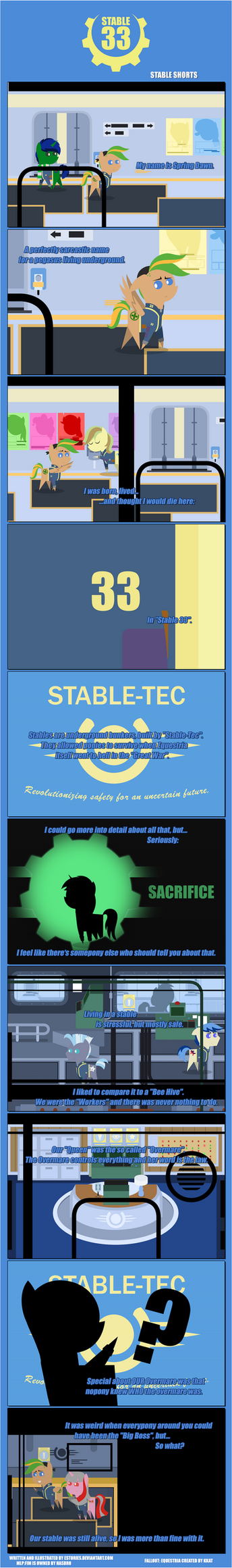ES' Stable 33: ''Stable Shorts 002'' by EStories