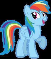 Vector: Rainbow Dash 20 by EStories