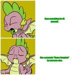 Drake/Spike Meme