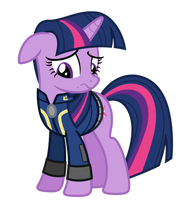 Vector: Twilight Sparkle - Fallout: Equestria by EStories