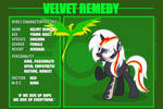 RFOE2 - CHARACTER FILE 002 - VELVET REMEDY by EStories
