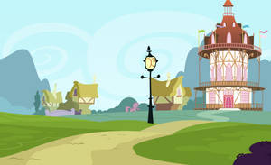 <b>Background: Ponyville 5</b><br><i>EStories</i>