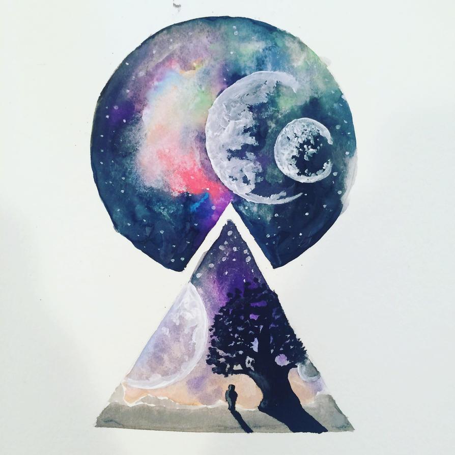 geometric universe by mackarylic