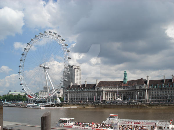 London eye by kastrishis