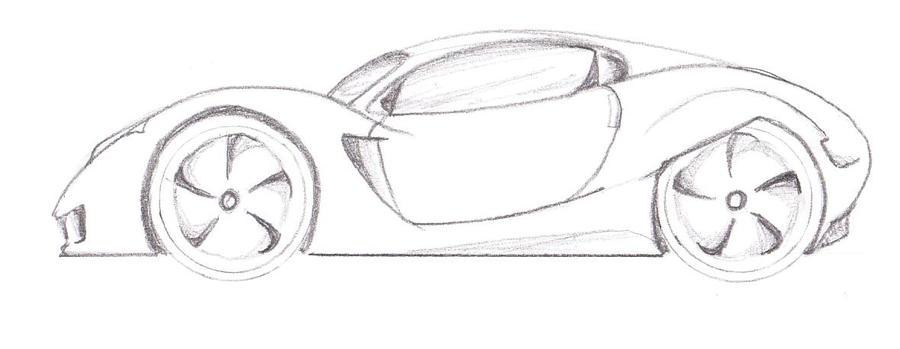 super car sketch by kastrishis on DeviantArt