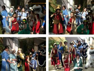 Avatar Group Cosplay 2008 1 by Waterbenderbunny