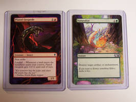 Altered Art Magic Cards. by KalisCoraven