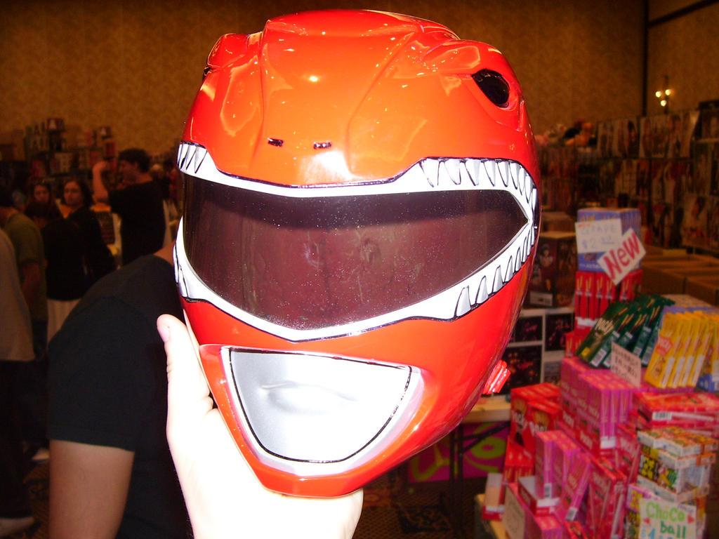 AFO 2007 - Red Ranger Helmet by AutobotJazz
