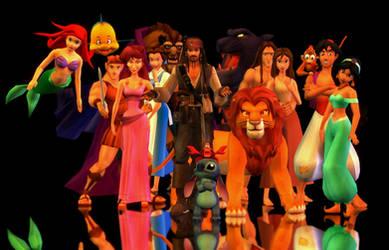 Disney by Shamalayah