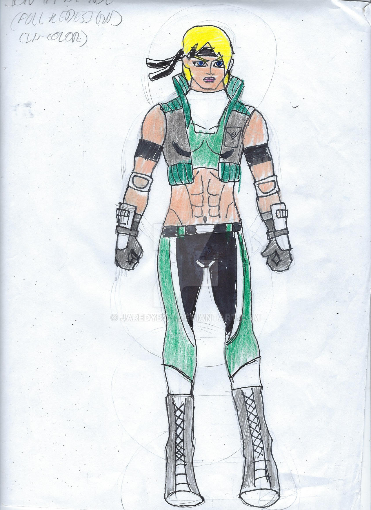 Sonya Blade Full Dc United Redesign By Jaredyboy On Deviantart