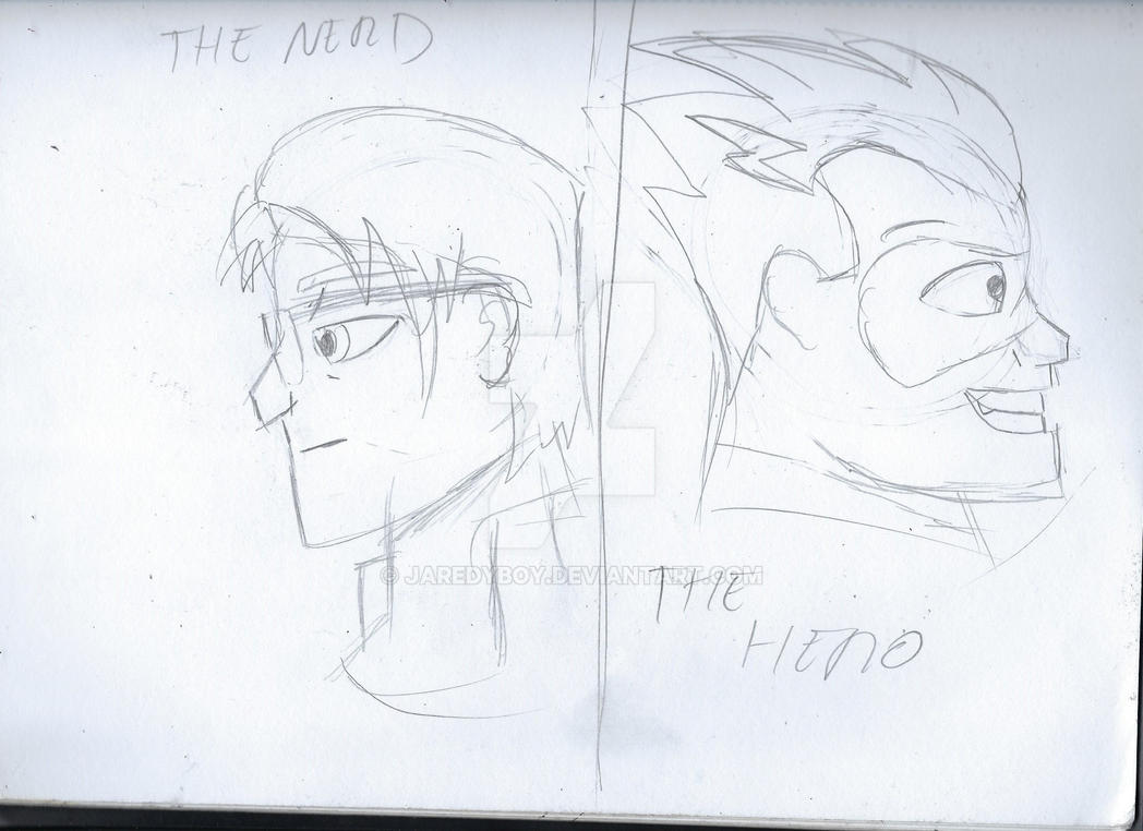 The Dual Identity of a Teenage Superhero by jaredyboy