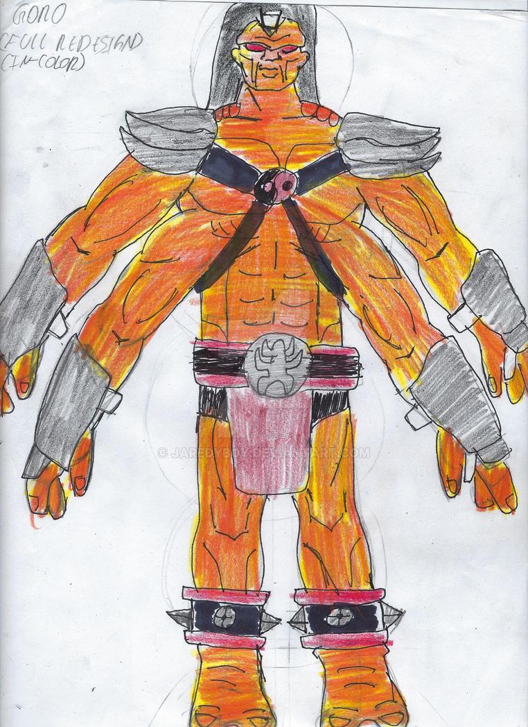 Goro Full DC United Redesign by jaredyboy