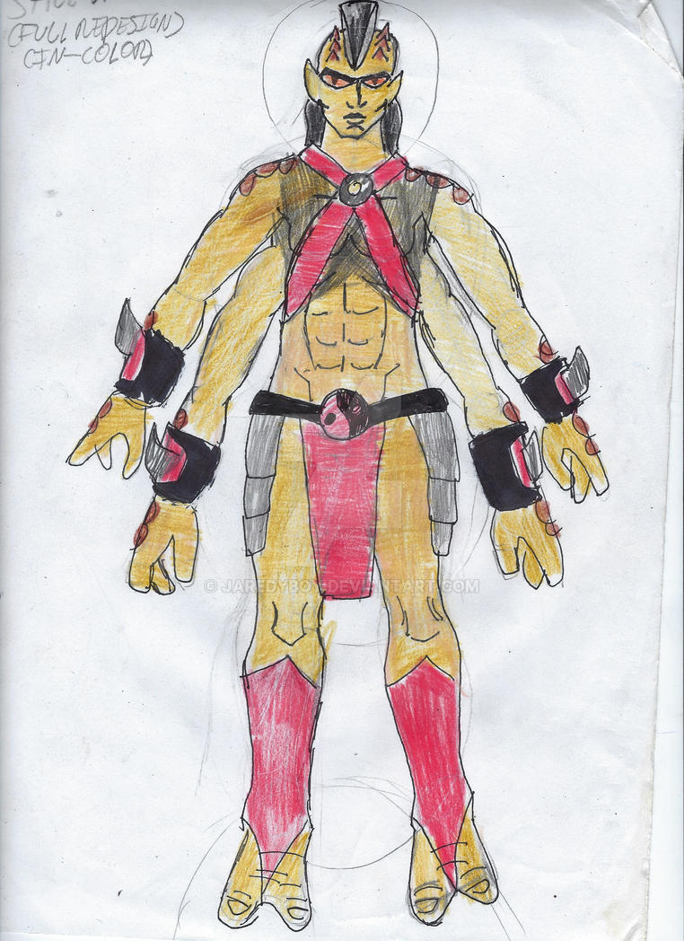Sheeva Full DC United Redesign by jaredyboy