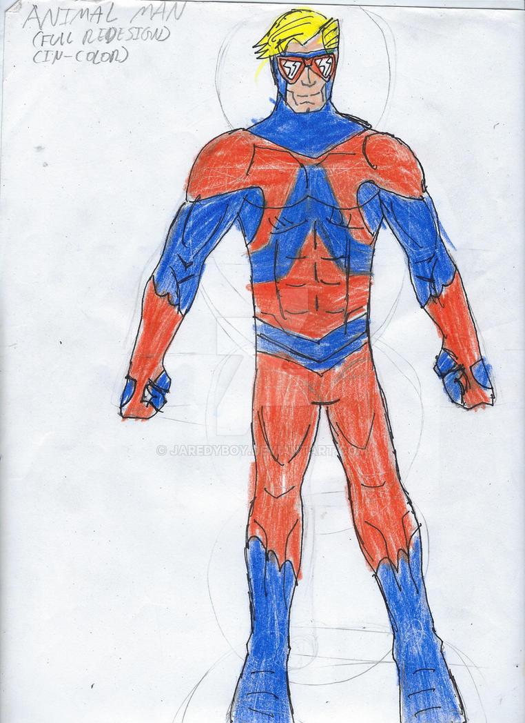 Animal Man Full DC United Redesign by jaredyboy
