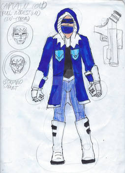 Captain Cold Full DC United Redesign