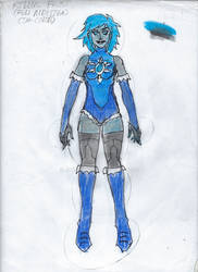 Killer Frost Full DC United Redesign