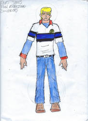 Fred Jones (24 years Old) Full DC United Redesign