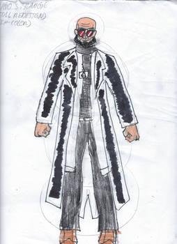 Hugo Strange Full DC Unlimited Redesign