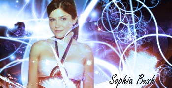 Sophia Bush - Signature by Allan-Valentine
