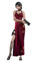 Ada Wong #1 RE4 - Professional Render by Allan-Valentine