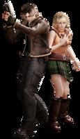 Leon/Ashley RE4 - Professional Render