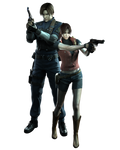 Leon and Claire - Professional Render