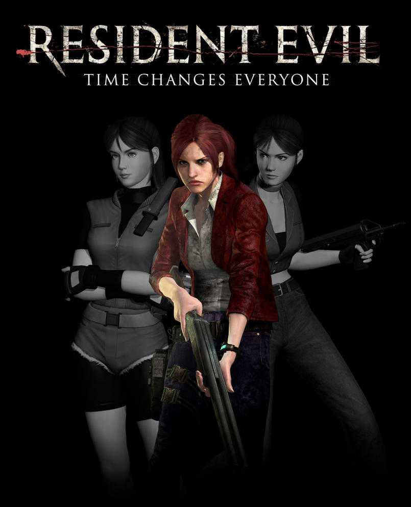 Claire Redfield Time Lapse by Allan-Valentine