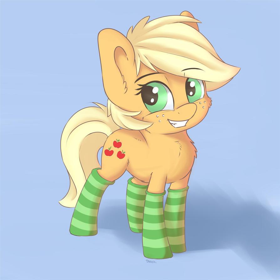 [Obrázek: apple_horse_with_socks_by_dbleki-dau649r.jpg]