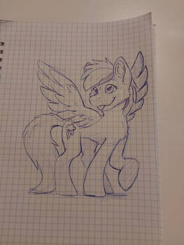 Sketch - Rainbow Dash