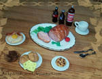 Polymer Clay Weird Breakfast