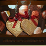 Biscuit hearts Earrings