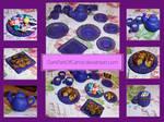 Polymer Clay Cuttlery by DarkPartOfCarrot