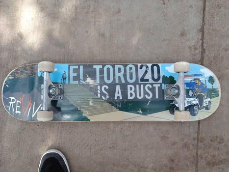 I got a Revive skateboard Today!