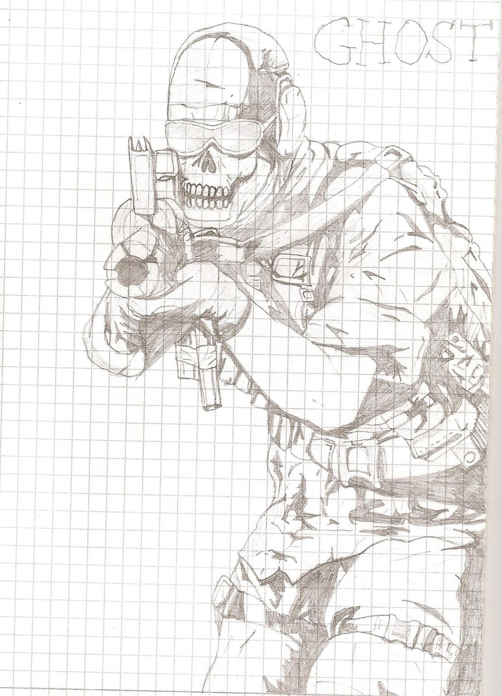 Logan From Call Of Duty Ghost Free Colouring Pages ...