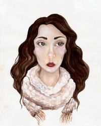 Sad Sparrow by Iararawr