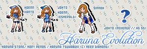 Haruna Stone Sprite Evo by MeerD