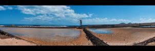 Lanzarote: Salt I by Tiemen-S