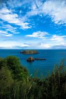 Antrim Coast, N-Ireland by Tiemen-S