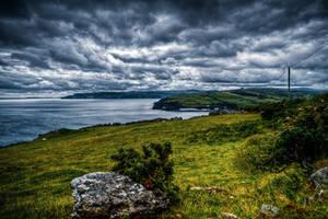 Antrim Coast, N-Ireland V by Tiemen-S