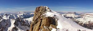 Marmolada II, Dolomites, Italy by Tiemen-S