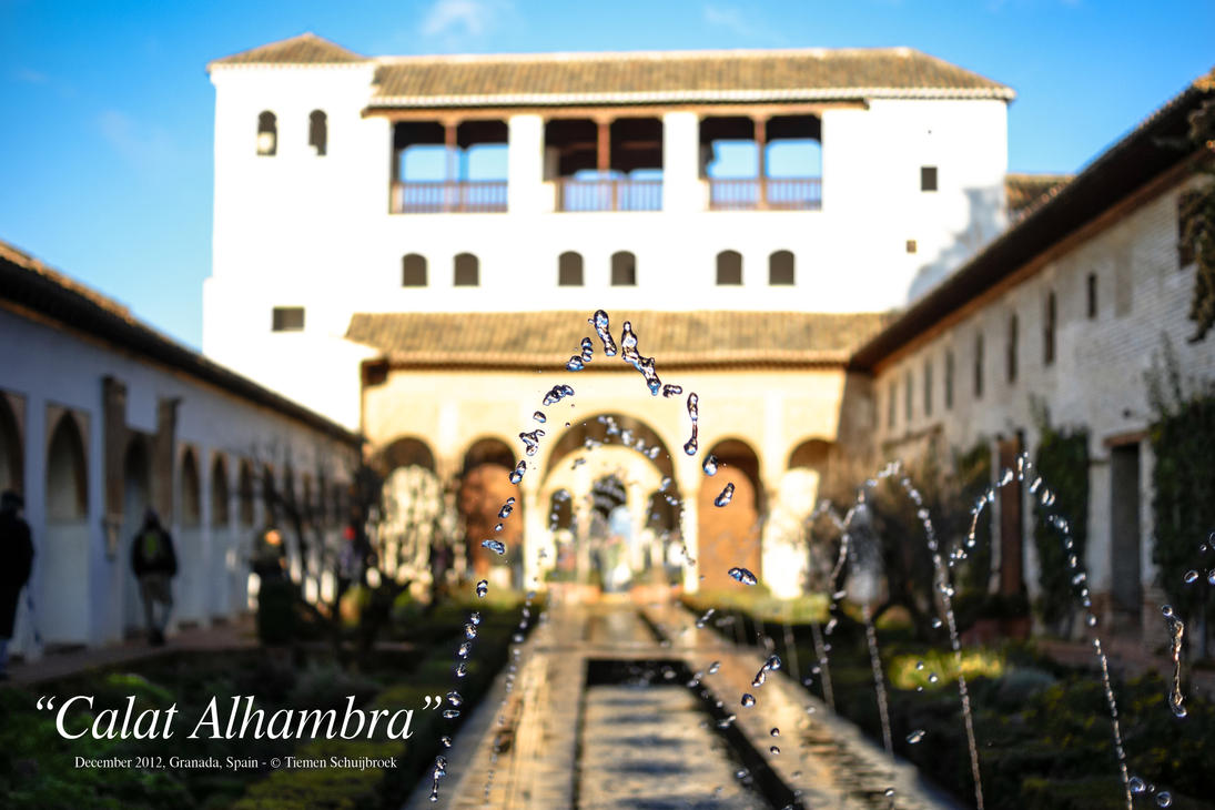 Calat Alhambra, Granada, Spain by Tiemen-S