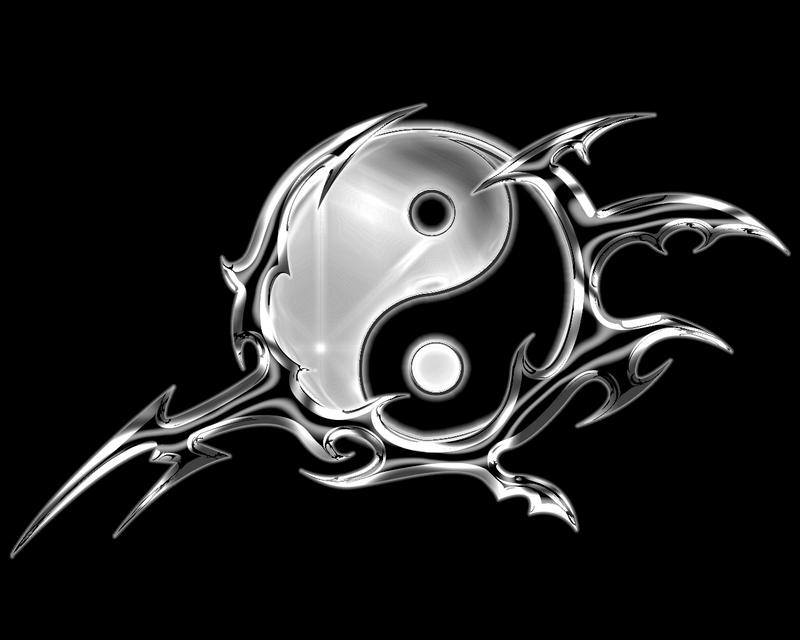 Ying Yang Wallpaper By Theo Lone Wolf