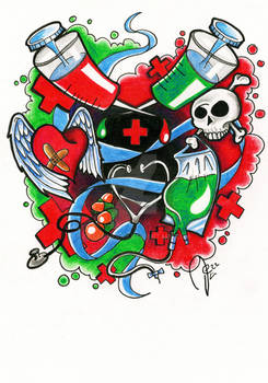Medical Tattoo Design