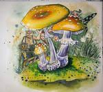 Mushroom Gnomes