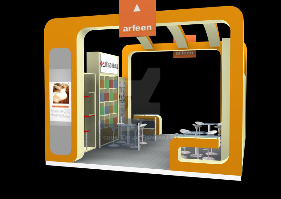 Exhibition Stand Design Drawings : Exhibition stand designs by crux art on deviantart